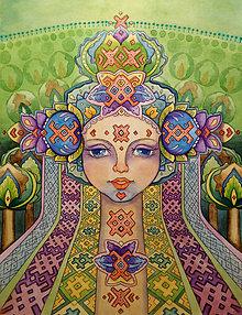 Obrazy - Cesta hájom Fine Art Print, S-L, papier/doska - 8916270_