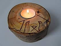 Svietidlá a sviečky - Svietnik V Betleheme - 8915952_