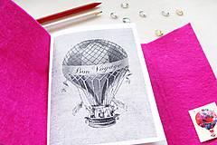 Papiernictvo - Diár Softwille Fuchsia - 8916197_