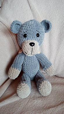 Hračky - Hačkovaný medvedík - 8915570_