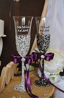 Nádoby - Svadobné poháre - 8920950_