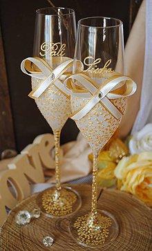 Nádoby - Svadobné poháre - 8921208_