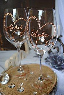 Nádoby - Svadobné poháre - 8921643_