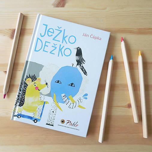 Detské doplnky - Knižka Ježko Dežko - 8920264_