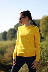 - Mikina s bodkami žltá - 8921179_