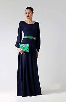 Šaty - Šaty Rose modré - 8921289_
