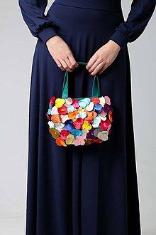 Kabelky - Cute bag s kvetmi - 8921399_