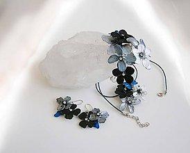 Sady šperkov - lel súprava ľadový tyrkys - 8919440_