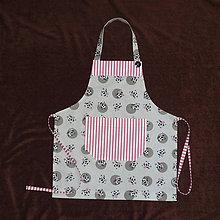 Detské oblečenie - zástera pre malé kuchárky - 8920863_