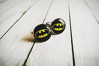 Šperky - Manžetové gombíky Batman - 8922486_