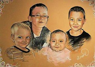 Kresby - 4 portrét - 8918451_