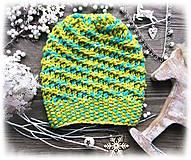 Čiapky - Čiapka - farbená vlna - 8920712_