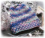 Čiapky - Čiapka - farbená vlna - 8920785_