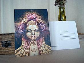 Papiernictvo - Pohľadnica Portrét z hmly - 8918801_
