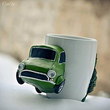 Nádoby - Pre autíčkára - hrnček na čaj, alebo maxi kávu - 8922062_