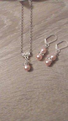 Sady šperkov - Set s perál - 8920124_