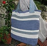 Veľké tašky - Farebná taška - 8918607_