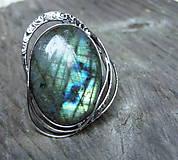 Prstene - Prsteň Labradorit - Coretole - 8918675_