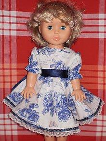 Bábiky - Evička v modrom - 8918805_