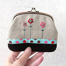 Peňaženky - Peňaženka XL Moja nežná steampunková - 8918996_