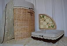 Košíky - Kúpeľňová súprava VERONKA - 8918882_