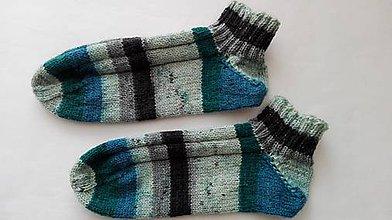 Obuv - Vlnené ponožky členkové - 8919991_