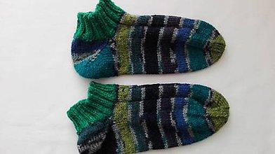 Obuv - Vlnené ponožky členkové - 8920019_