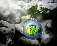 Grafika - Vianočná guľa (grafický obrázok) - kapor - 8920025_