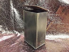 Krabičky - Kovový box pre chlapov - 8925833_