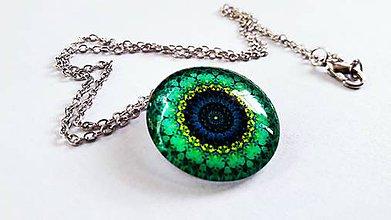 Náhrdelníky - Mandala premeny náhrdelník - 8926225_