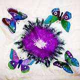 - hodvábna šatka Motýle  - 8925584_