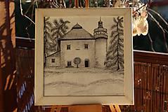 Kresby - Kaštieľ v Mokradi - 8923194_