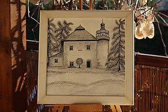 Kresby - Kaštieľ v Mokradi - 8923196_