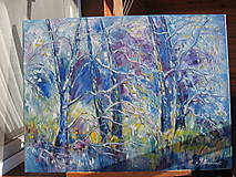 Obrazy - Zimný les - 8922952_