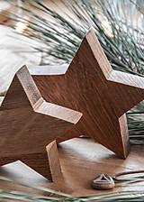 Dekorácie - hviezdy, set 2 ks - 8923095_