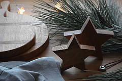 Dekorácie - hviezdy, set 2 ks - 8923096_