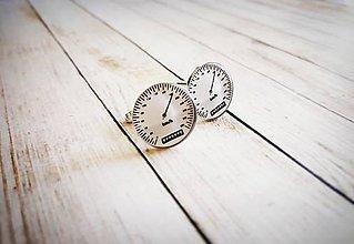Šperky - Manžetové gombíky tachometer :) - 8925992_