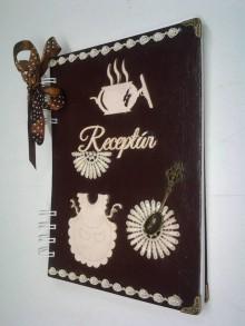 Papiernictvo - receptár čokoládový - 8924095_