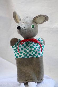 Hračky - Maňuška. Zvieratko Myška Maruška. - 8923590_