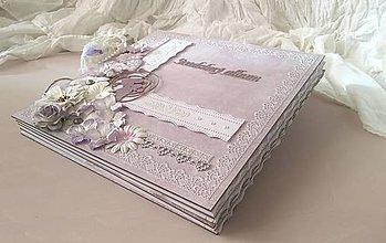 Papiernictvo - Svadobný album na želanie pre Ivanku - 8923498_