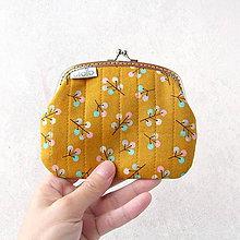 Peňaženky - Peňaženka XL Vetvičky s plodmi - 8924854_