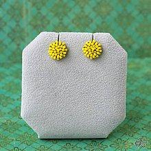 Náušnice - Minizetky (Žltá) - 8923591_