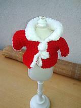 - Svetrík pre bábiku- 25-27 cm, alebo darček. - 8924492_