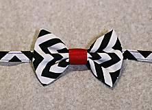 Doplnky - Motýlik Zig Zag - 8924909_