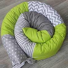 Úžitkový textil - Had *Zelený* - 8927225_