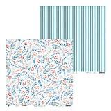 - Papier obojstraný 30,5x30,5cm North Pole - č.2 - 8928271_