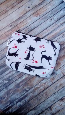 Taštičky - Kozmetická taška  (Mačky) - 8928600_