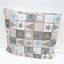 Úžitkový textil - Vianočná obliečka - 8928681_