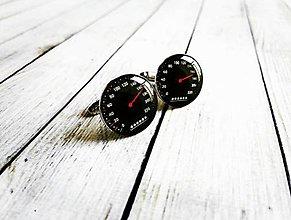 Šperky - Manžetové gombíky tachometer :) - 8930120_