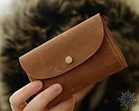 - Malá kožená peňaženka pre Petru - 8926949_
